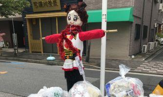 Парад японской самодеятельности. Чьё чучело лучше?