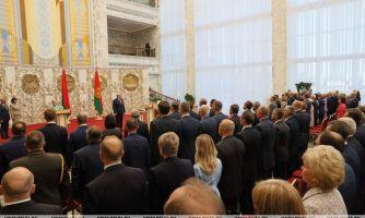 ВМинске прошла церемония инаугурации Лукашенко