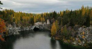Осень в Рускеале