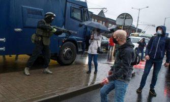 «Мирный» митинг по-белорусски