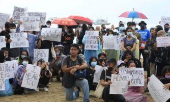 Бангкокская «революции зонтиков». Хроника