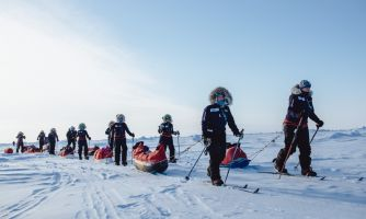 Отказаться от страха и покорить Северный полюс