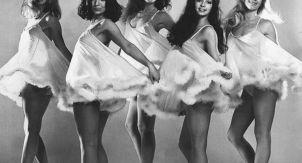 Очаровательные танцовщицы с британского ТВ