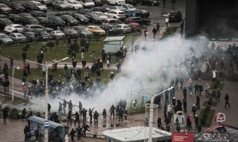 Протесты в Беларуси. «Марш против фашизма»
