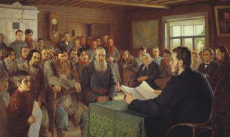 Когда русские люди, наконец, научились читать