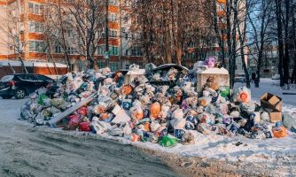 Свалки — главная новогодняя скрепа России