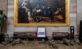 Картина на стене Капитолия. Что это?