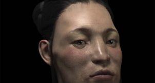 Древние бургунды были монголоидами?