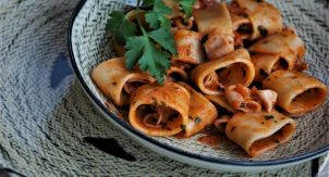 Неаполитанская паста Каламарата