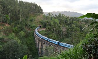 Как устроены поезда на Шри-Ланке