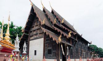 Ват Пхан Тао. «Храм тысячи печей»