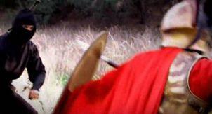 Спартанец против ниндзя. Викинг против самурая