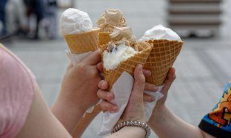 Рекордный спрос на мороженое