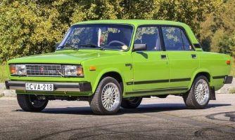 Экспортная «Lada Nova» для венгерского рынка