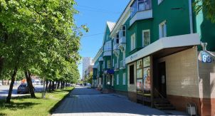 Интересные дворики Новосибирска