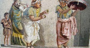 В Древнем Риме любили мозаику