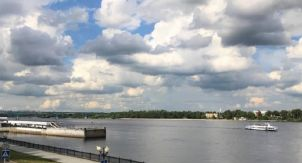 Волга в Ярославле