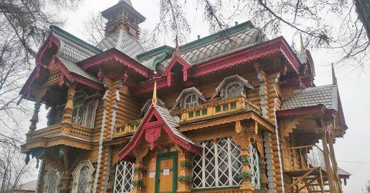 Терем вАсташово— воплощение русской сказки