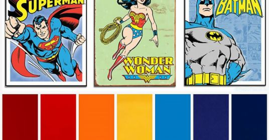 О роли цвета в супергероике