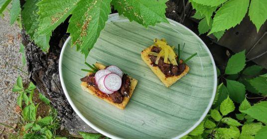 Говядина пулькоги с тофу