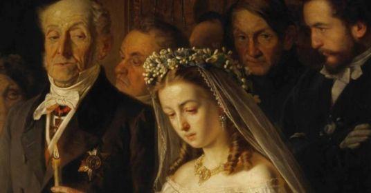 Невеста почти в слезах, у шафера горе