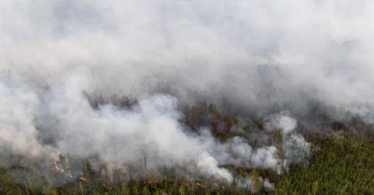 Якутия сгорела из-за шести рублей