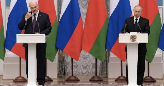 Путин и Лукашенко согласовали Союзное государство