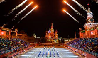 Военные оркестры на Красной площади