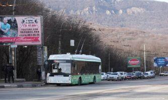 На троллейбусе из Ялты в Симферополь