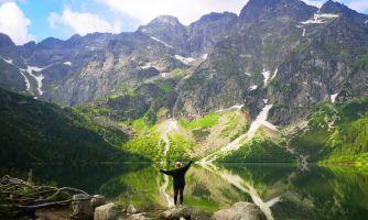 Самое красивое озеро польских Татр