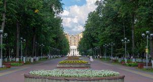Жуковский: центр города