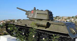 Т-34-76 в Севастополе