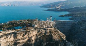 Сулакский каньон и Чиркейская ГЭС