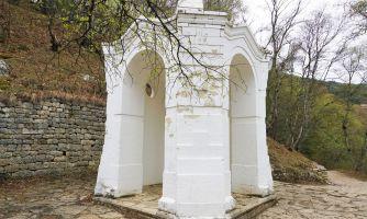 В местах капитуляции кавказских горцев