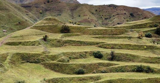Рукотворные террасы Дагестана