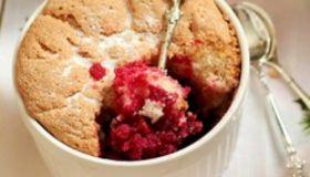 На скорую руку: вишнево-клюквенный десерт