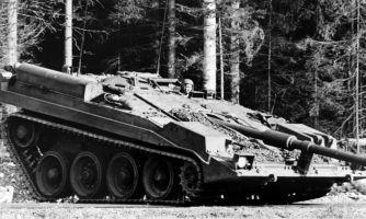 История уникального шведского танка