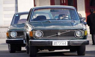 Ворованные Volvo 40 лет работают в КНДР
