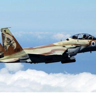 Истребитель F-16в ближневосточных конфликтах