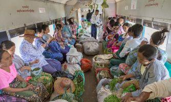 Бирманский поезд. Взгляд изнутри