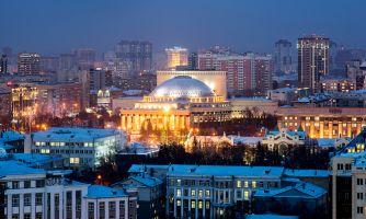Новосибирск— вид сверху