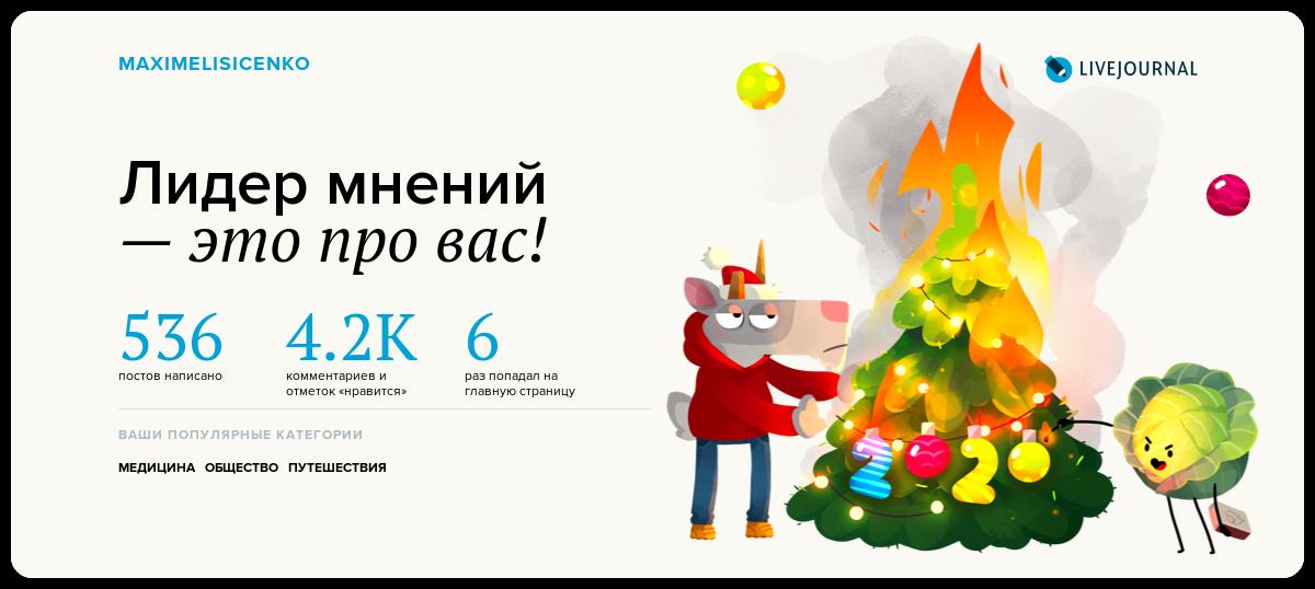 Вроде не плохо прошел год в Жжешке)