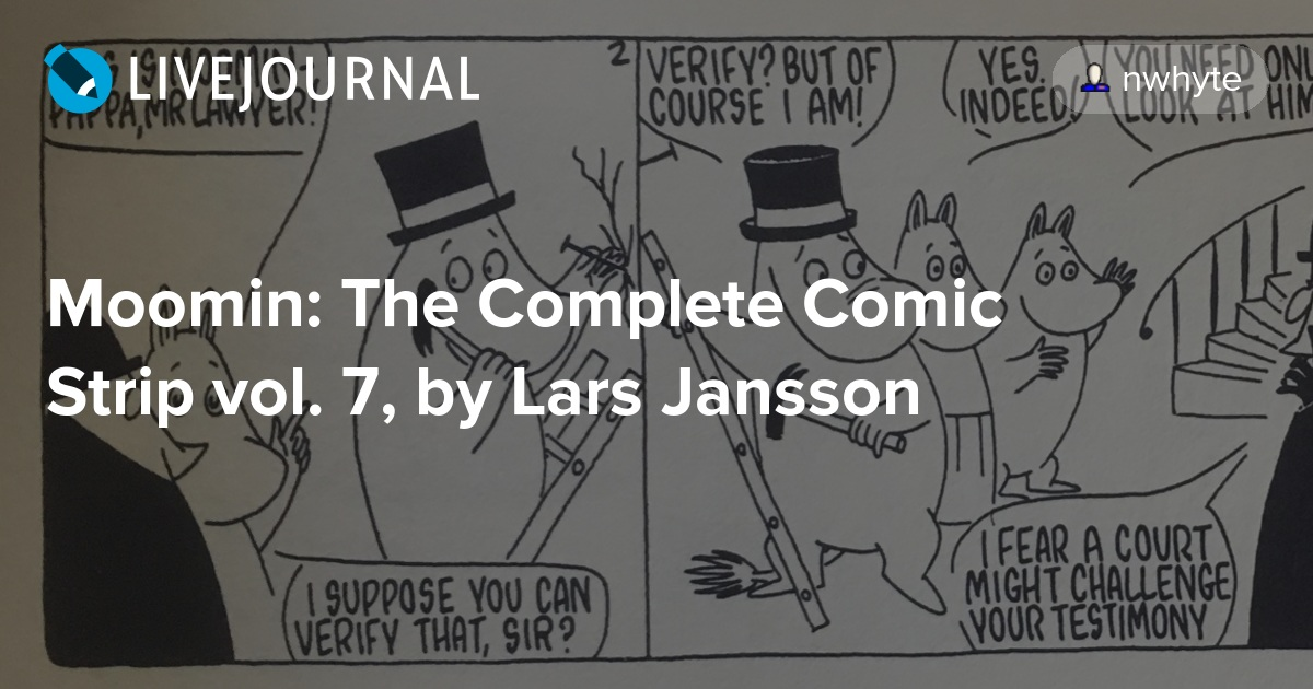 Moomin the complete comic strip vol 7 by lars jansson from moomin the complete comic strip vol 7 by lars jansson from the heart of europe sciox Images