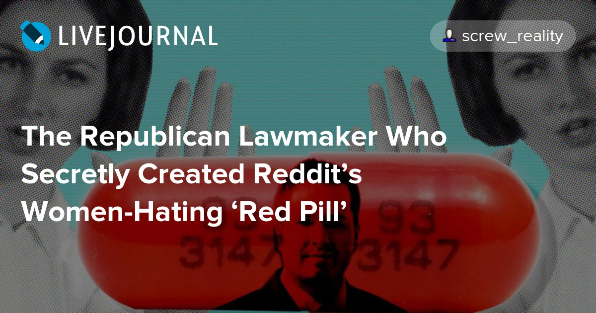 reddit the red pill handbook