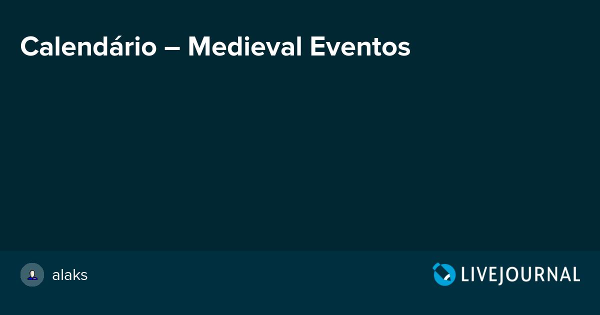 Calendário – Medieval Eventos  alaks   248015a875de5