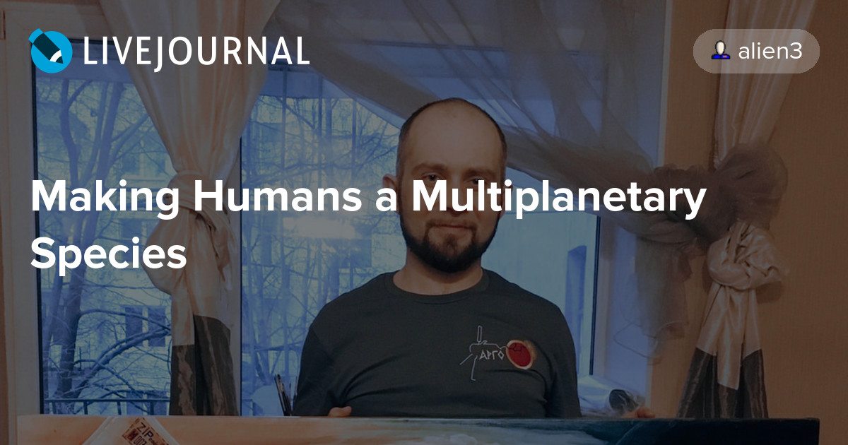 making humans a multiplanetary species pdf