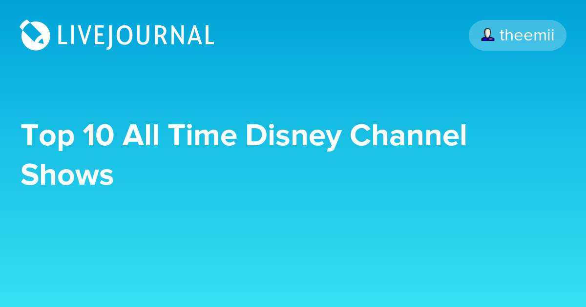 Disney channel time slots
