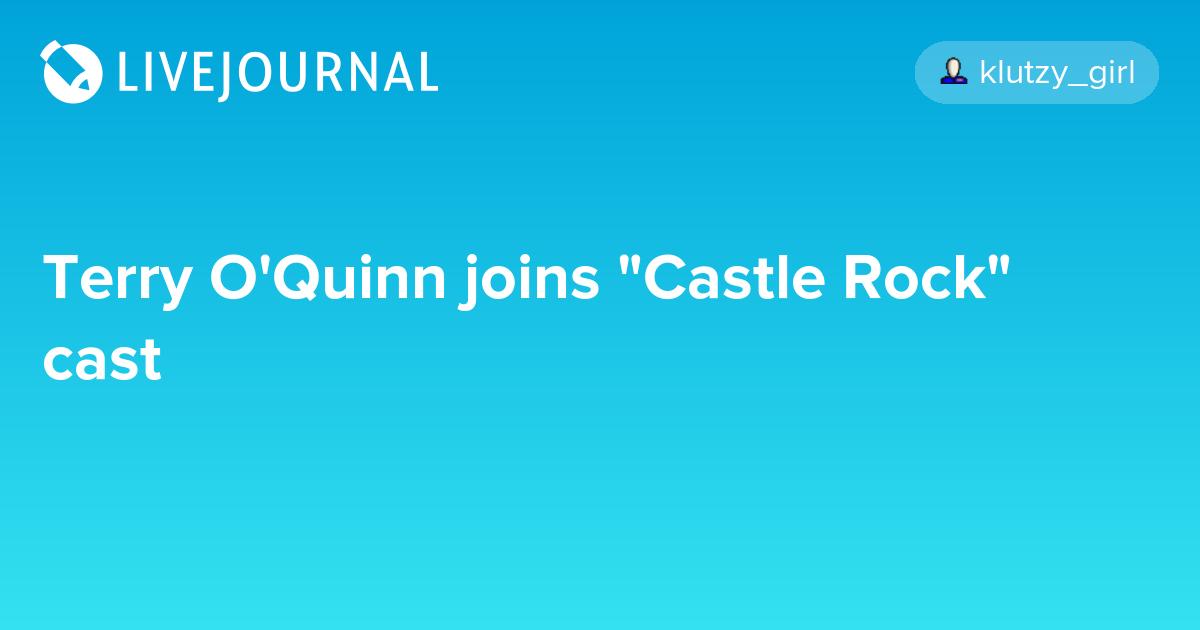 Terry O'Quinn joins