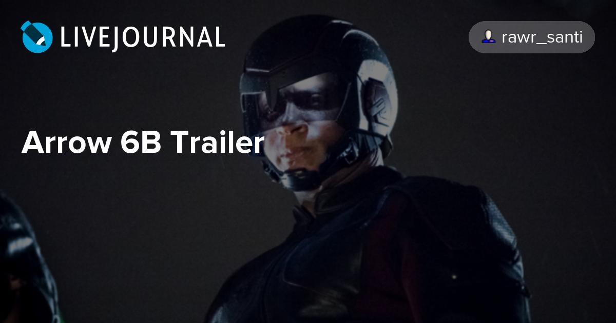 Arrow Trailer Deutsch