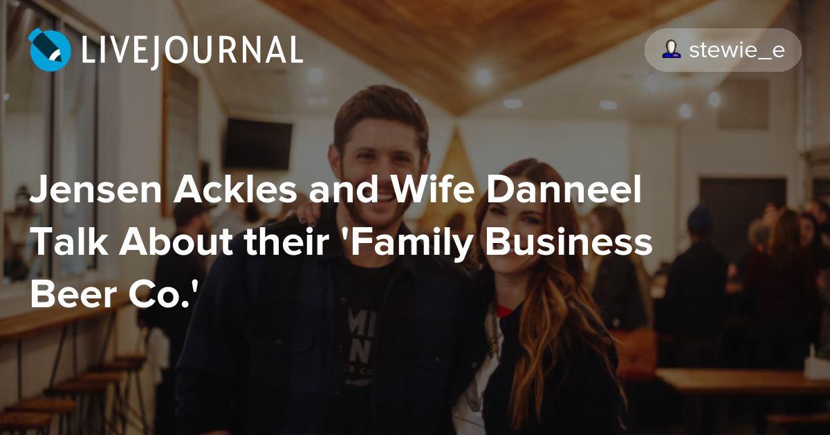 Jensen Ackles and Wife...